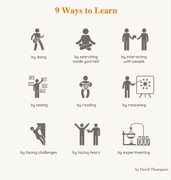 9 ways to keep on learning in life
