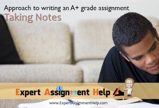 Taking Notes 550 × 372