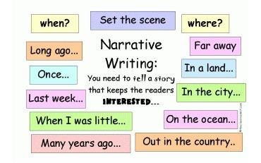 Narattive Writting 370 × 231
