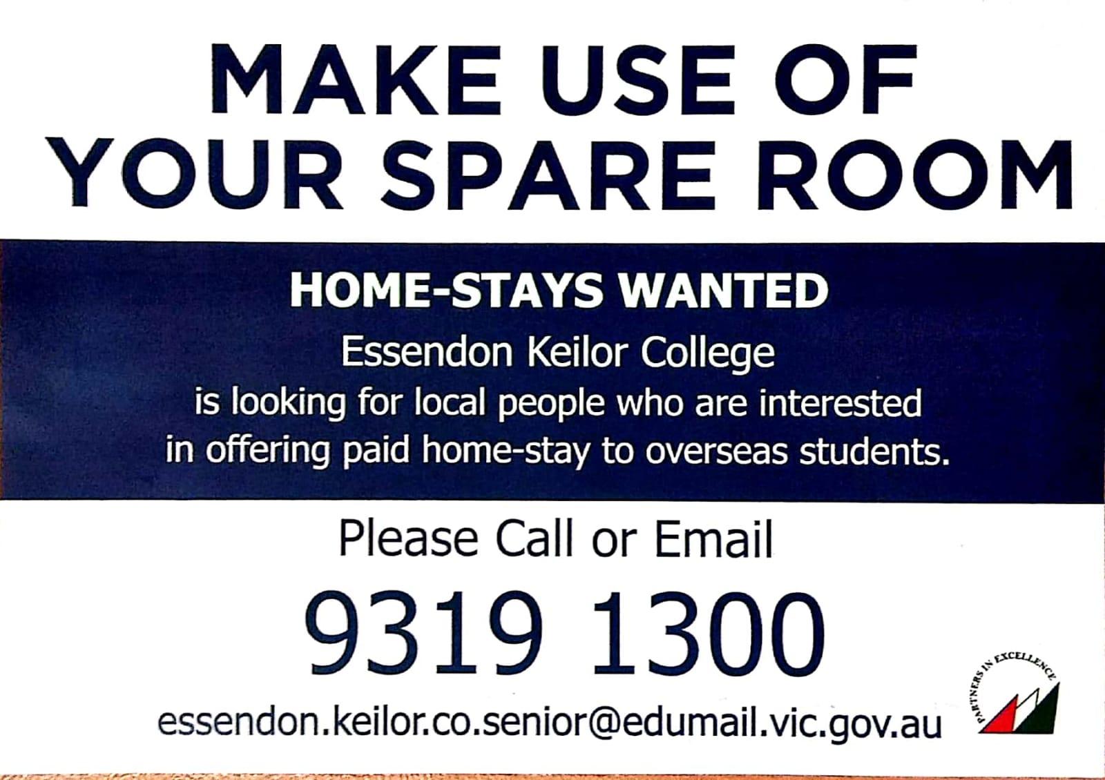Keilor Victoria Government Home Stay Campaign