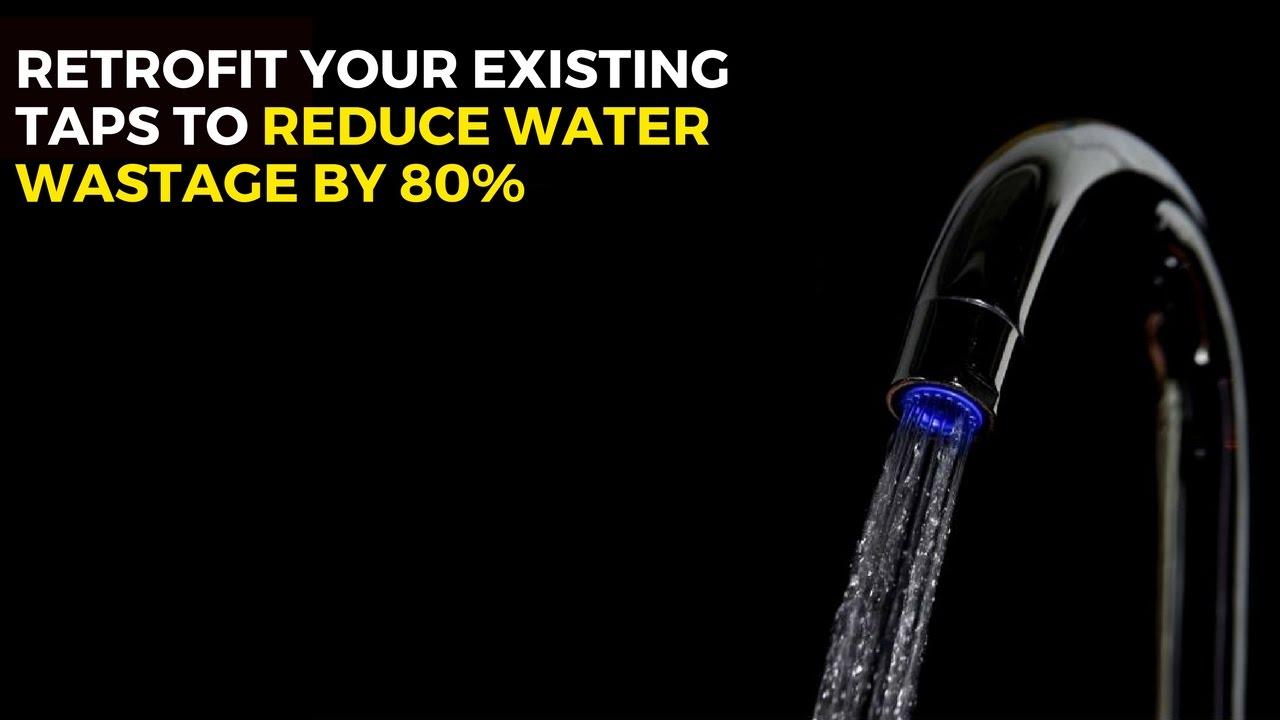 tap aerator water savings